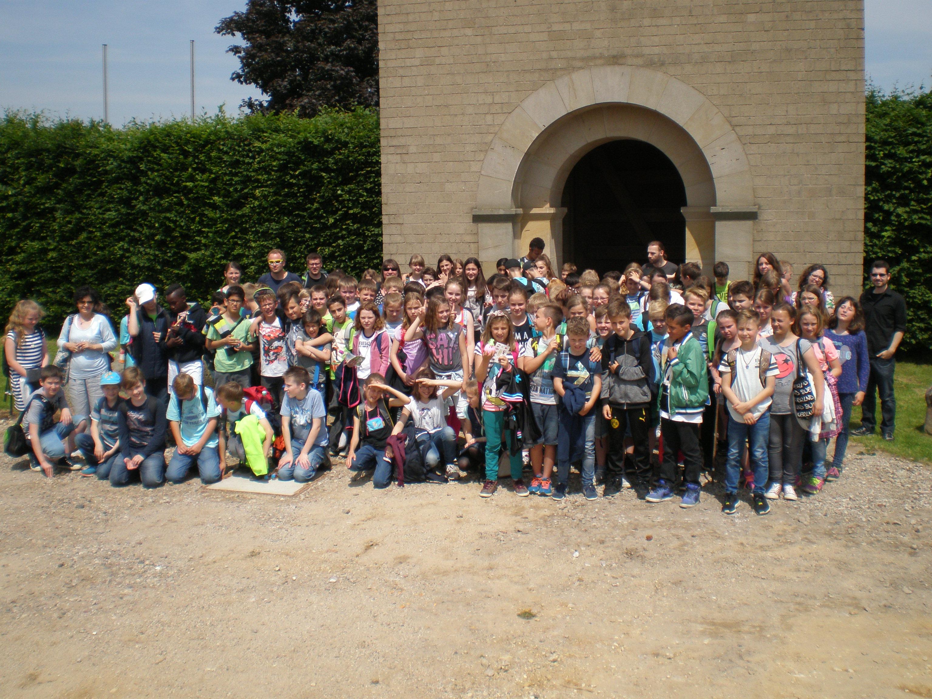 Humboldtschule Halver in Xanten